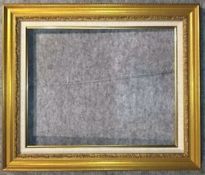 """3.25"""" Antique Gold Leaf Ornate photo Oil Painting Wood Picture Frame 1G 20x24"""
