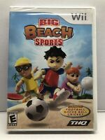 Big Beach Sports (Nintendo Wii, 2008) New Factory Sealed - Free Shipping