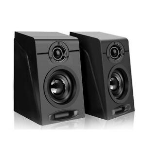 Casse amplificate attive per computer pc Usb active speakers altoparlanti