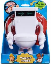 *Dreamworks Captain Underpants Movie* TALKING TOILET TOY- approx 8 inches