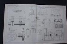 1869 Fachbericht Zeitschrift Bergbau / Grube von Heydt Meinerzhagen ohne Bericht