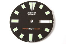 Seiko Diver 6309 dial , luminous (not very strong), new with pins         -9649