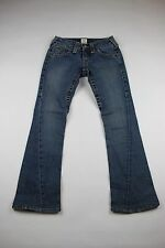 Women's TRUE RELIGION Jeans SIZE 26  Barely Worn Flare Jeans Made in USA  J1