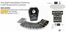 Disney Nightmare Before Christmas Note Card Set (WDAC) - New & Mint!!