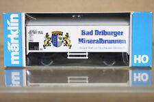 MARKLIN MäRKLIN 4415 K8063 DB BAD DRIBURGER MINERALBRUNNEN Kühlwagen