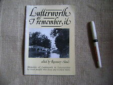 Lutterworth Local history booklet Rosemary Stead 60 pages