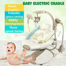 Baby Electric Auto Swing Infant Portable Cradle Bouncer Seat Sway Chair