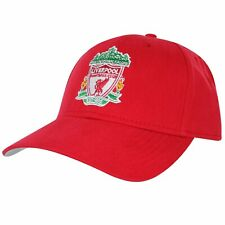 Official Liverpool FC (Premier League) Baseball Cap (100% Cotton) Red