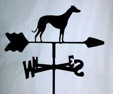 Greyhound Garden Style Weathervane Wrought Iron Look Made In Usa