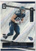 2019 UNPARALLLED RC ANTHONY FIRKSER TENNESSEE TITANS ROOKIE - C1586
