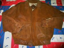 Vintage CHIA  Bomber Flight High Aviator 1936 Military Bomber Leather Jacket L