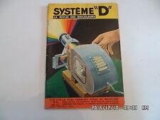 SYSTEME D N°148 04/1958 BAR ROULANT MEUBLE CHAMBRE D'ENFANTS CARRELAGE MURAL D85