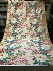 VTG+1940-50%E2%80%99+Rayon+Faille+Drapes+2pc+Floral+Print.+Perfect+For+Pillow+%2F++Crafts