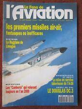 FANA 292 MISSILE AIR AIR USAF HUGHES REGGIANE LIMOGES DC-3 A-26 INVADER CANBERRA