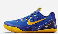 !RARE Nike Kobe 9 IX X 10 Gym Blue Size 12 Basketball Shoes Yellow Lakers Used