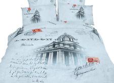 London - Queen Duvet Cover Set 6 Piece 100% Cotton, Dolce Mela Bedding DM496Q