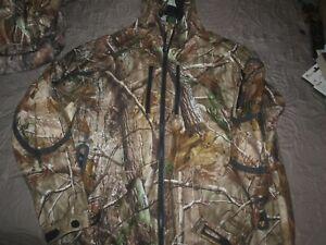 Cabela's Goretex MT050 Uninsulated Hooded Jacket-Realtree Camo Sz L Reg-New