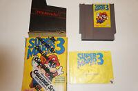 Super Mario Bros 3 Nintendo NES- CIB NES Nintendo Game Complete w/ Box & Manual