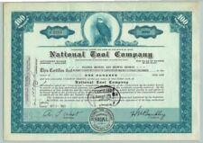 1955 Vintage NATIONAL TOOL COMPANY Original Stock Certificate / CLEVELAND OHIO