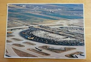 Postcard Dallas /Fort Worth Airport Aerial View