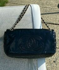 Chanel Patent Vinyl Rock and Chain Small Flap Bag