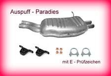 Endschalldmpfer Auspuff BMW 3er E46 Cabrio 320Ci, 325Ci & 330Ci (170-231PS) +Kit