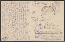 21282) KAIS. DEUTSCHE MARINE SCHIFFSPOST Nr. 139 SMS Luitpold AK nach Gera 1918