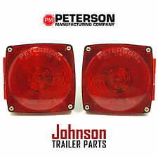 Pair of Peterson Stop-Turn-Tail Lights for Trucks, Trailers, RVs, 440 & 440L