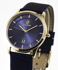 Ejecutiva Cavadini-Serie Yukon Puro Lujo Reloj para Hombre Römish Cifra Azul