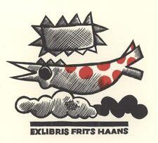 Ex Libris Cees Andriessen : Frits Haans