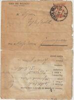 1917 Casa del soldato alla fronte lettera da P.M.93 x Guncugnano Massa Carrara