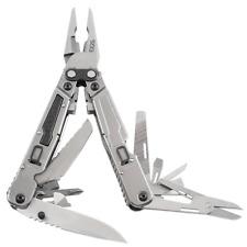 SOG Power Grab Multi-Tool Plier Knife Screw driver & more w/ Sheath PM1001
