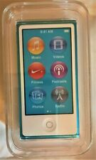 Apple iPod nano 7th Generation Blue (16 GB) NEW, UNOPENED BOX (see pictures)
