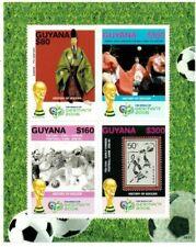 Guyana - 2006 - FIFA World Cup - Sheet Of 4 - MNH