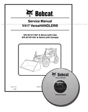 Bobcat V417 VersaHANDLER Workshop Repair Service Manual CD + Download 6987144