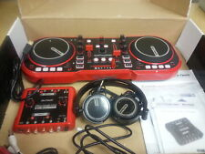Dj Tech MYSCRATCHPACK Usb Dj Midi Controller W/ Headphones & External Sound