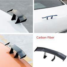 Punch Free Mini Carbon Fiber Texture Spoiler Empennage Car Tail Kit Decoration