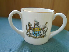 SALFORD MANCHESTER SEE OF MANCHESTER 3 CRESTS - LARGE TYG - GOSS CRESTED CHINA
