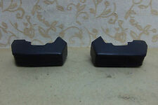 NOS TWO OEM FORD FIESTA MK1 MkI BUMPER FRONT OVERRIDERS # 77FB-17996-AA