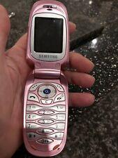 Vintage Flip Phone Mobile Samsing Pink