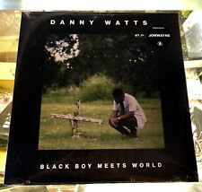 Danny Watts - Black Boy Meets World LP On Vinyl Jonwayne Produced