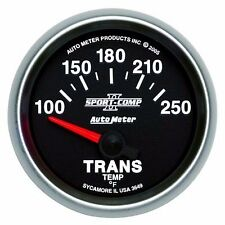 FITS FORD DODGE CHEVY AUTO METER SPORT-COMP II TRANSMISSION TEMPERATURE GAUGE...