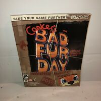 VGC Brady Games Official Strategy Guide Conker's Bad Fur Day BradyGames