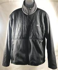New Balance Fleece Jacket Sweater Zipper Pocket Green-Gray XL LOOKS GRAY IN PICS
