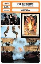 FICHE CINEMA : L'ILE AUX PIRATES - Davis,Modine,Harlin 1995 Cutthroat Island