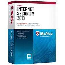 McAfee Internet Security 2013 PC for Windows MIS13EAM3RAA