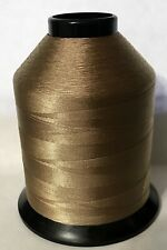 Gudebrod #10882 GOLDEN BROWN Nylon Rod Winding Thread Size B 3600 Yd 4 oz Spool