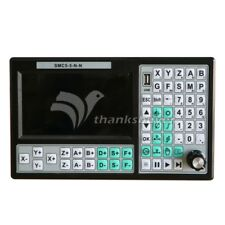 """500KHz CNC 5 Axis Motion Controller Offline CNC Controller Mach3 USB 7"""" Screen"""