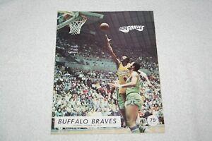 1971 Seattle Supersonics PROGRAM * Sonics vs Buffalo Braves * 10-28-71