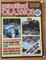 Practical Classics Magazine July 1980 (163) Austin Healey 3000 Victor Engine